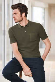 Pocket Knitted Polo