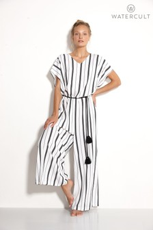 Watercult Seaside Stripe Jumpsuit
