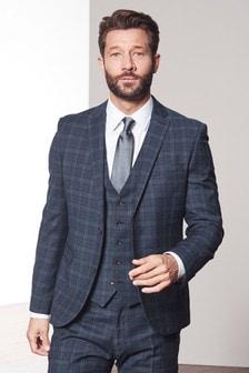 Tollegno Check Suit