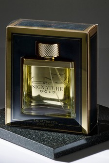 Signature Gold Eau De Toilette 100ml