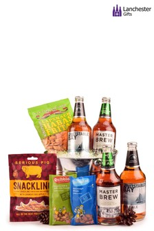 Bucket Of Beer And Snacks by Lanchester Gifts