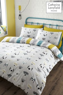 Cool Dogs Duvet Cover and Pillowcase Set by Catherine Lansfield