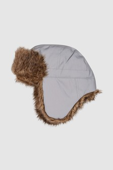 Reflective Faux Fur Trapper (Older)