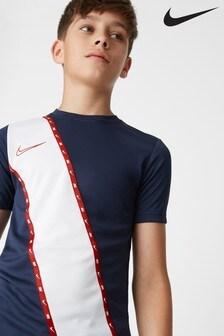Nike Navy Academy Stripe T-Shirt