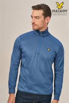 Lyle & Scott Golf Wick Quarter Zip Pullover Sweat Top