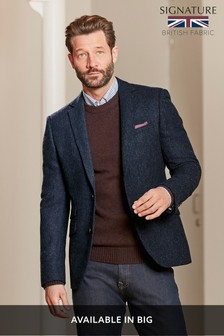 Signature Donegal Slim Fit Moons British Wool Blazer