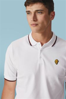 Tipped Lion Badge Polo