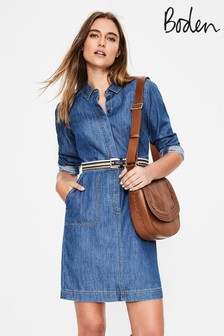 Modra obleka iz denima Boden Hattie