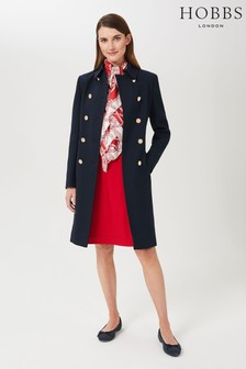 Hobbs Blue Cecelia Coat