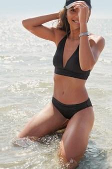 V Plunge Soft Triangle Bikini Top