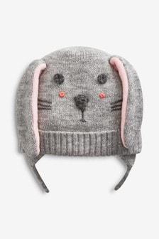 小白兔鋪毛飛行帽 (小)