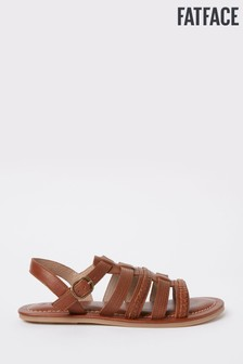 FatFace Tan Grays Gladiator Sandal