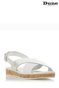 Dune London White Shoe