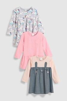 Bunny Dresses Three Pack (3mths-6yrs)