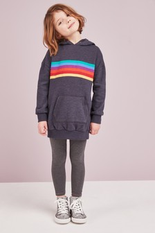 Rainbow Stripe Hoody (3-16yrs)