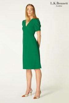 L.K.Bennett Green Bettina Dress