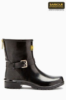 Barbour® Black Short Boot