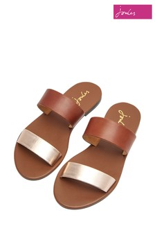 Joules Fenthorpe Two Strap Leather Sandal