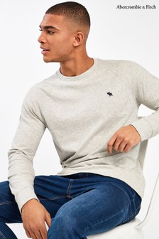 Abercrombie & Fitch Grey Long Sleeve T-Shirt