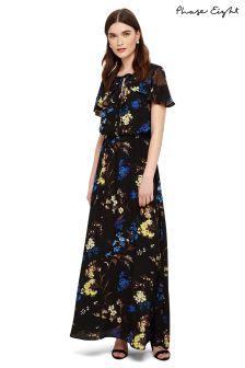 Phase Eight Black Multi Manoela Floral Maxi Dress
