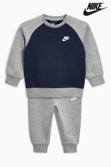Nike Little Kids Futura Crew/Jogger Set