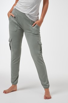 Cupro Utility Joggers