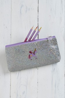 Unicorn Shimmer Pencil Case