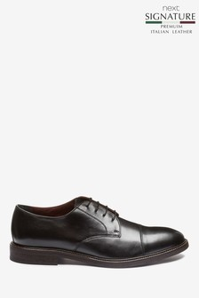 Signature Toe Cap Derby Shoe