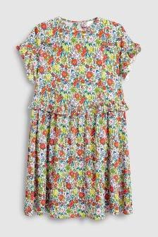 Frill Waist Dress (3-16yrs)
