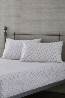 Nostalgia Floral Pillowcase And Fitted Sheet