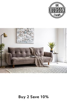 Gothenburg Grey Sofa Bed By Hudson Living