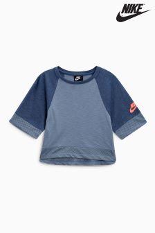 Nike Short Sleeve Crop Top