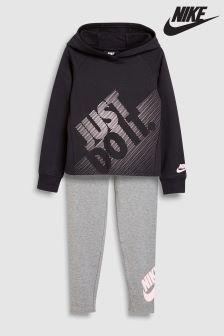 Nike Black/Grey JDI Legging Set