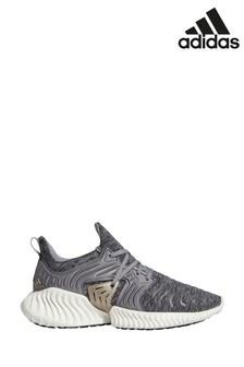 Серые кроссовки для бега adidas Alphabounce
