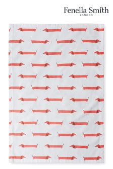 Fenella Smith Dachshund Tea Towel