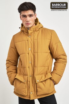 Barbour® International Yellow Goshen Quilted Jacket