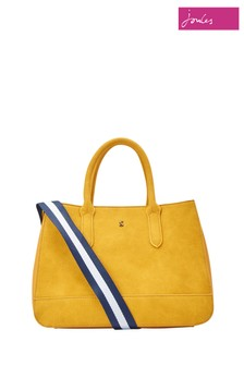 Joules Gold Thernwell PU Bag