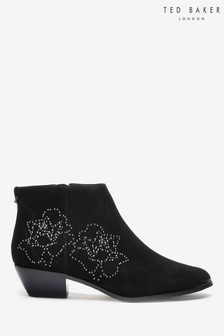 Ted Baker Black Ankle Boots