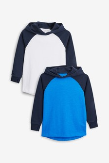 Raglan Hoodies Two Pack (3-16yrs)