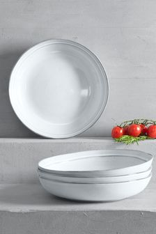 Set of 4 Country Luxe Pasta Bowls