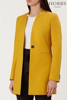 Hobbs Yellow Elysia Coat
