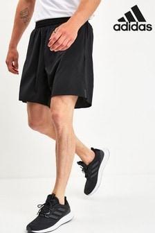 Черные шорты для бега adidas Pure
