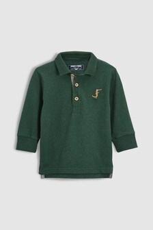 Рубашка поло с длинным рукавом (3 мес.-6 лет)