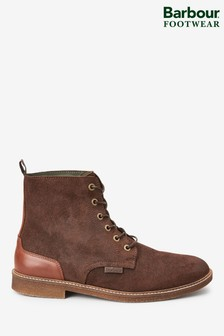 Barbour® Mojave Brown Suede Boots