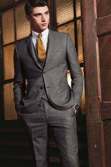 Karierter Anzug im Skinny-Fit: Sakko