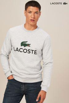 Lacoste® Silver Chine Classic Logo Crew