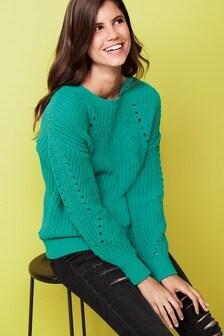 Chenille Rib Sweater