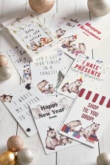 Festive Family Milestone Cards