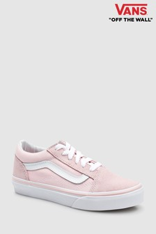 Vans Pink Suede Old Skool