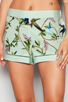B by Ted Baker Green Highgrove Short
